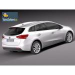 Tažné zařízení - montáž Kia Cee´d Sporty Wagon - Bosal 037-983 EM