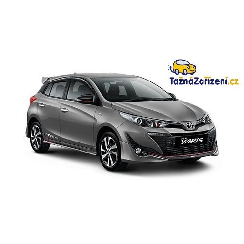 Tažné zařízení Toyota Yaris - montáž