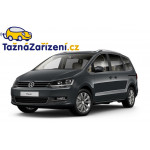 Tažné zařízení Volkswagen Sharan - montáž