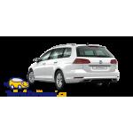 Tažné zařízení Volkswagen Golf 7 Kombi - montáž